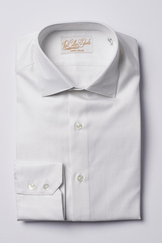 Classic Collar White Shirt