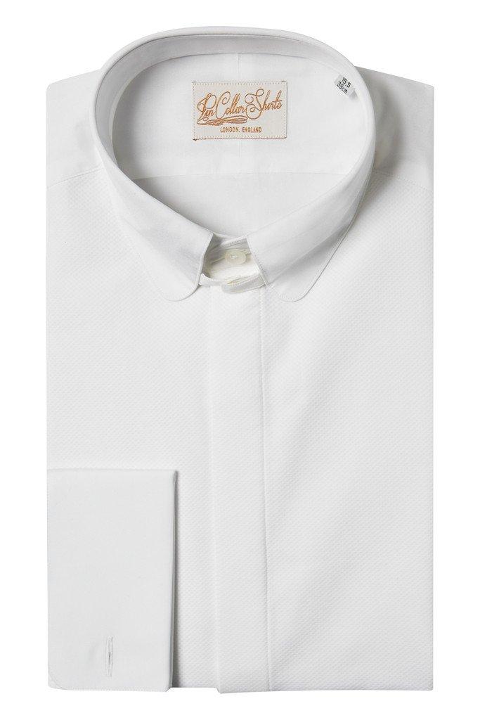 Tuxedo Tab Collar Shirt