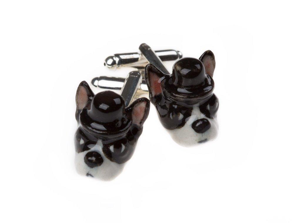 French Bulldog Cufflinks £35