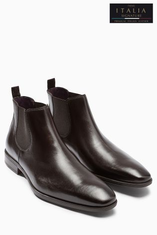NEXT Brown Chelsea Boots