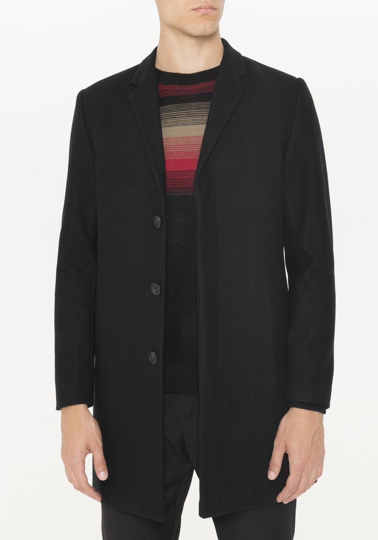 Black Overcoat Men's