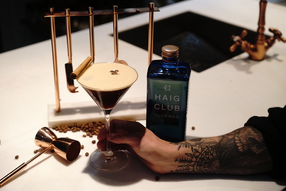 Haig Club Winter Spiced Espresso Martini