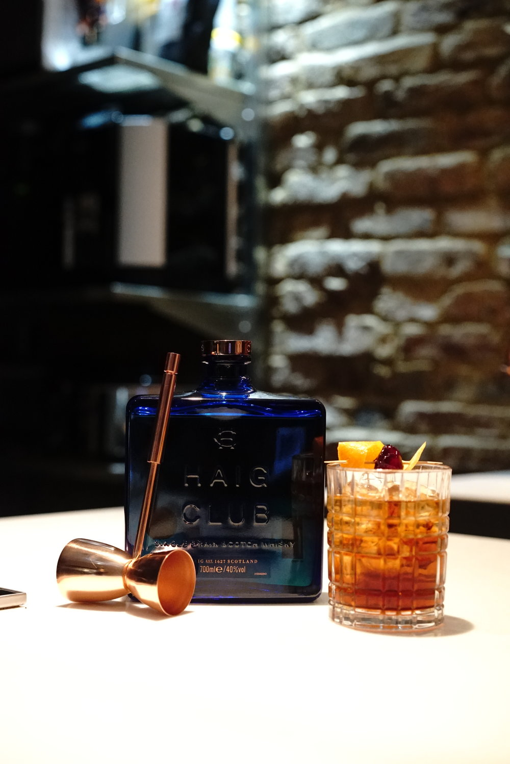 Clubman & Cola Old Fashioned