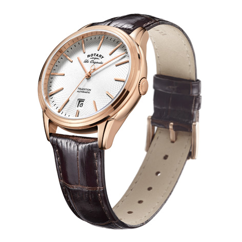 Rotary Tradition Men's rose gold Swiss Watch.jpg
