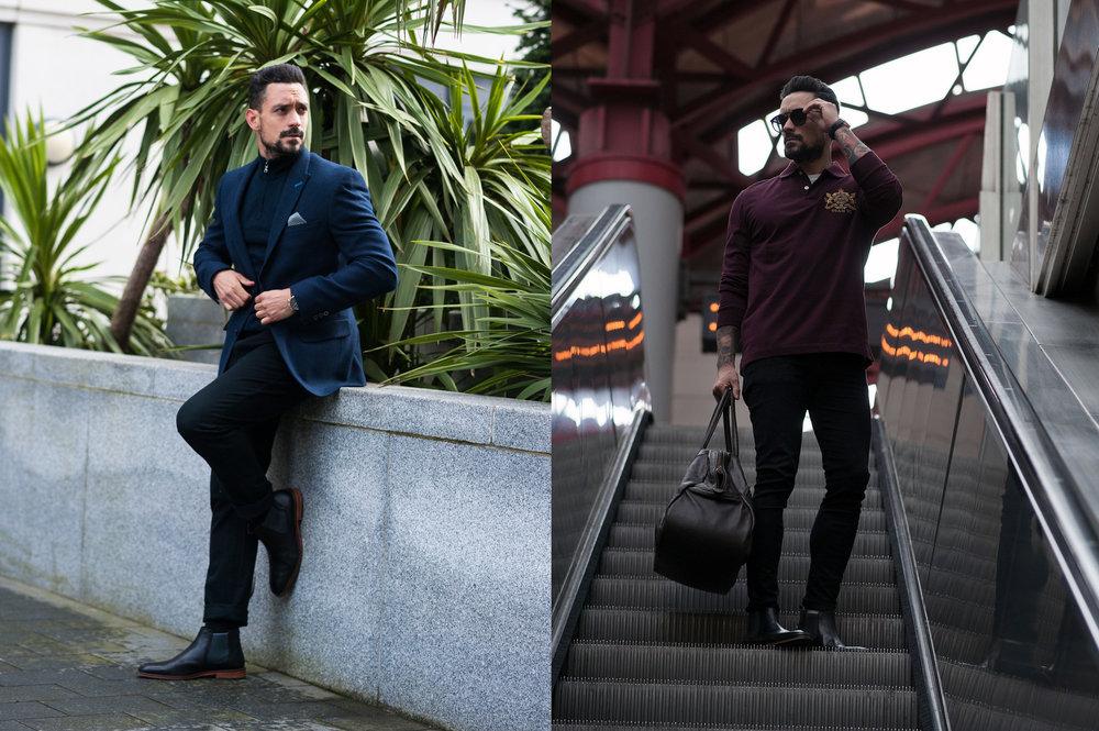 A Men S Spring Wardrobe Refresh 1 Smart 1 Casual Look Men S