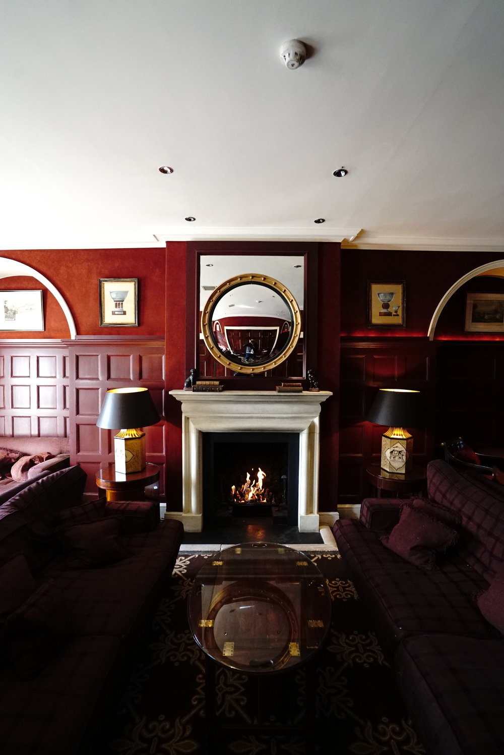 Chewton Glen Fireplace.JPG