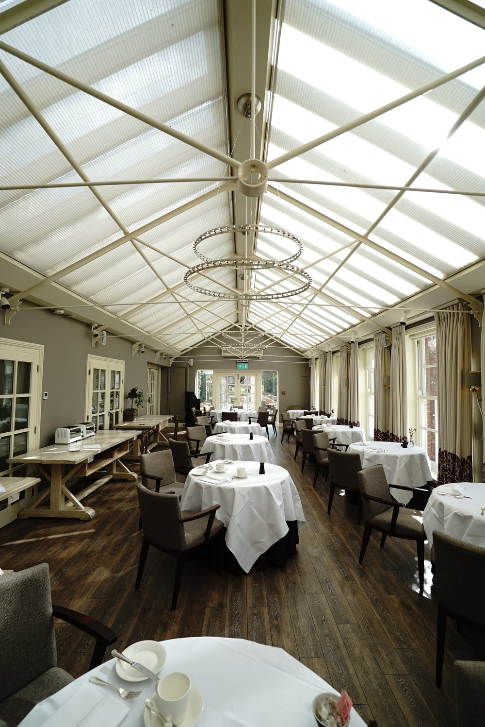 Chewton Glen Dining Event Area.JPG