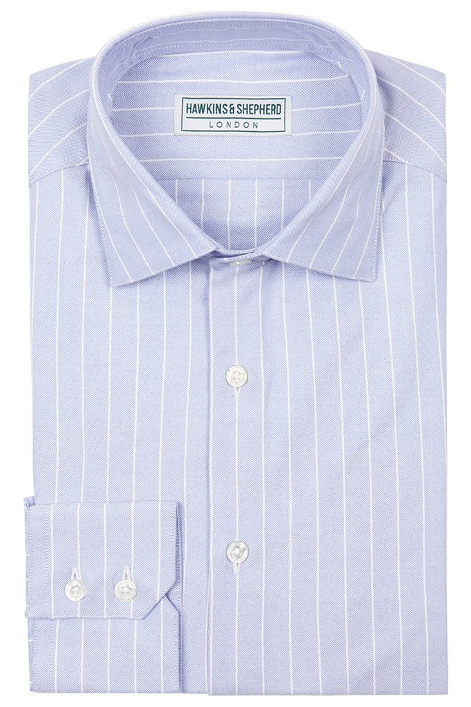 Hawkins & Shepherd Blue Oxford Shirt