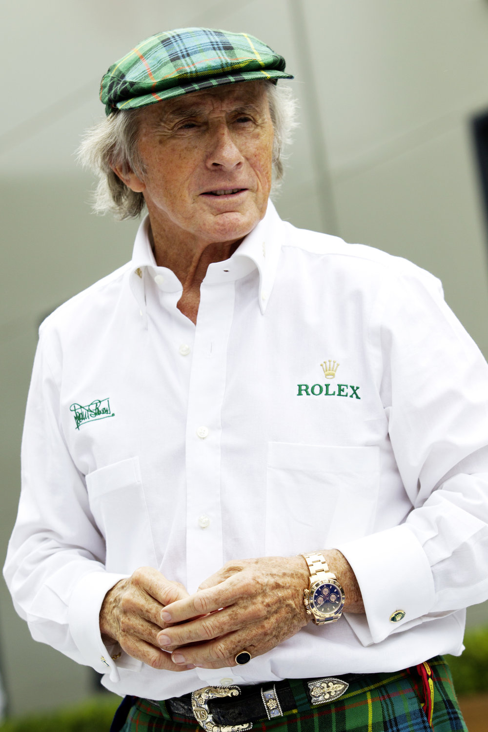©Rolex/James Moy ROLEX TESTIMONEE, SIR JACKIE STEWART AT THE 2014 FORMULA 1 ROLEX AUSTRALIAN GRAND PRIX