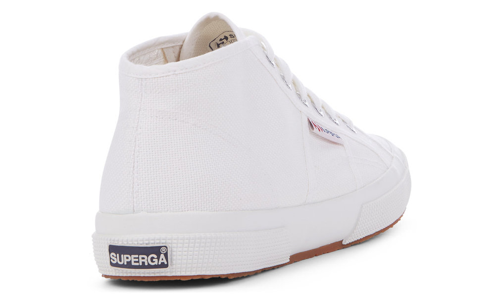 Superga Mid top trainers