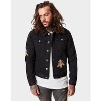 Hermano Black Denim Jacket