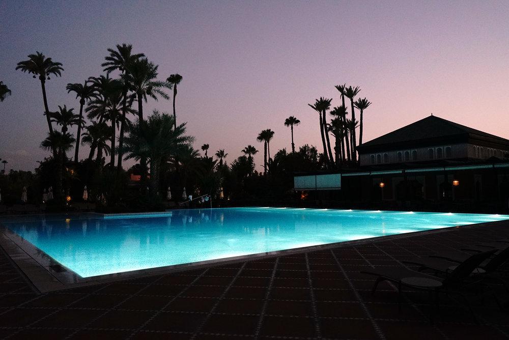 La Mamounia Morocco Outdoor Swimming Pool 2.jpg