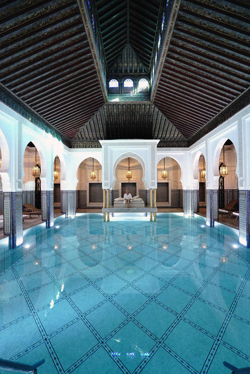 La Mamounia Morocco Indoor Swimming Pool 6.jpg