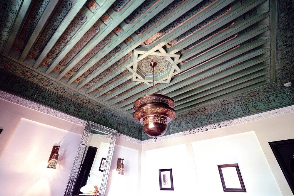 La Mamounia Morocco Room Suite Ceiling.jpg