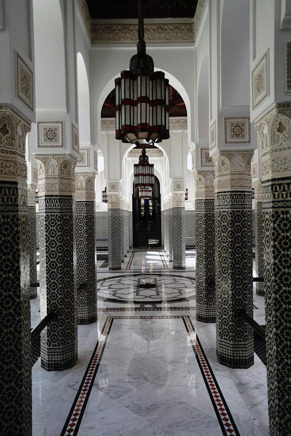 La Mamounia Morocco Pilars.jpg