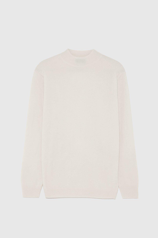 Zara Cream Cashmere Sweater