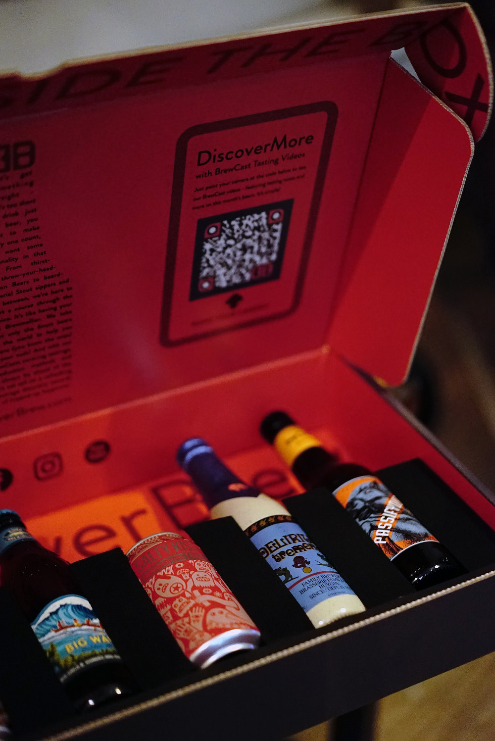 Discover Brew Beer Box