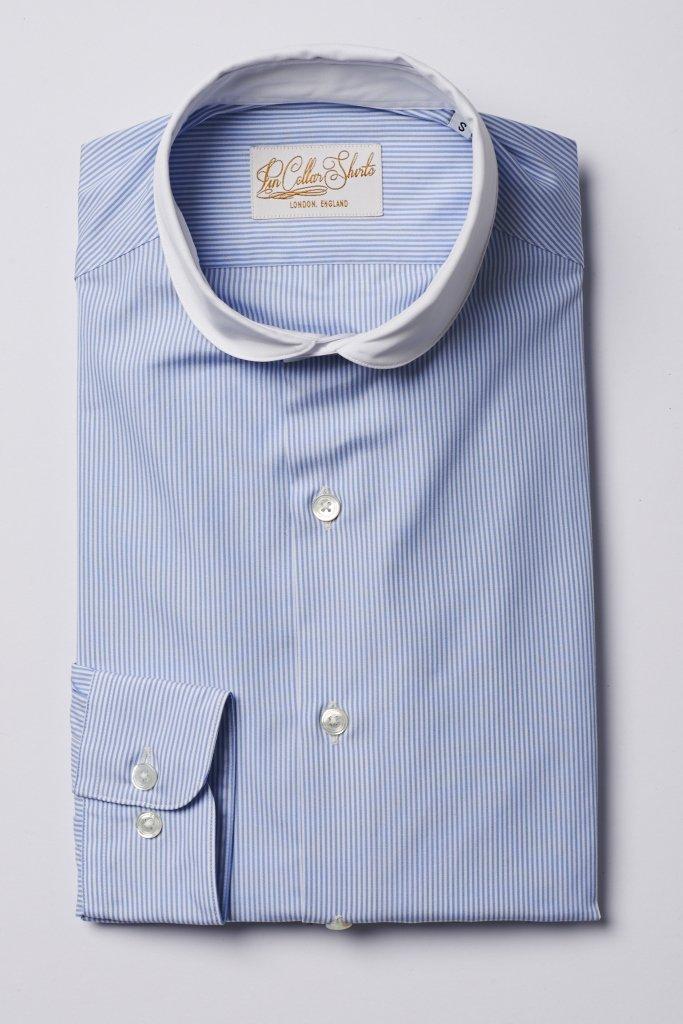Peaky Blinders Cutaway Penny Collar Shirt