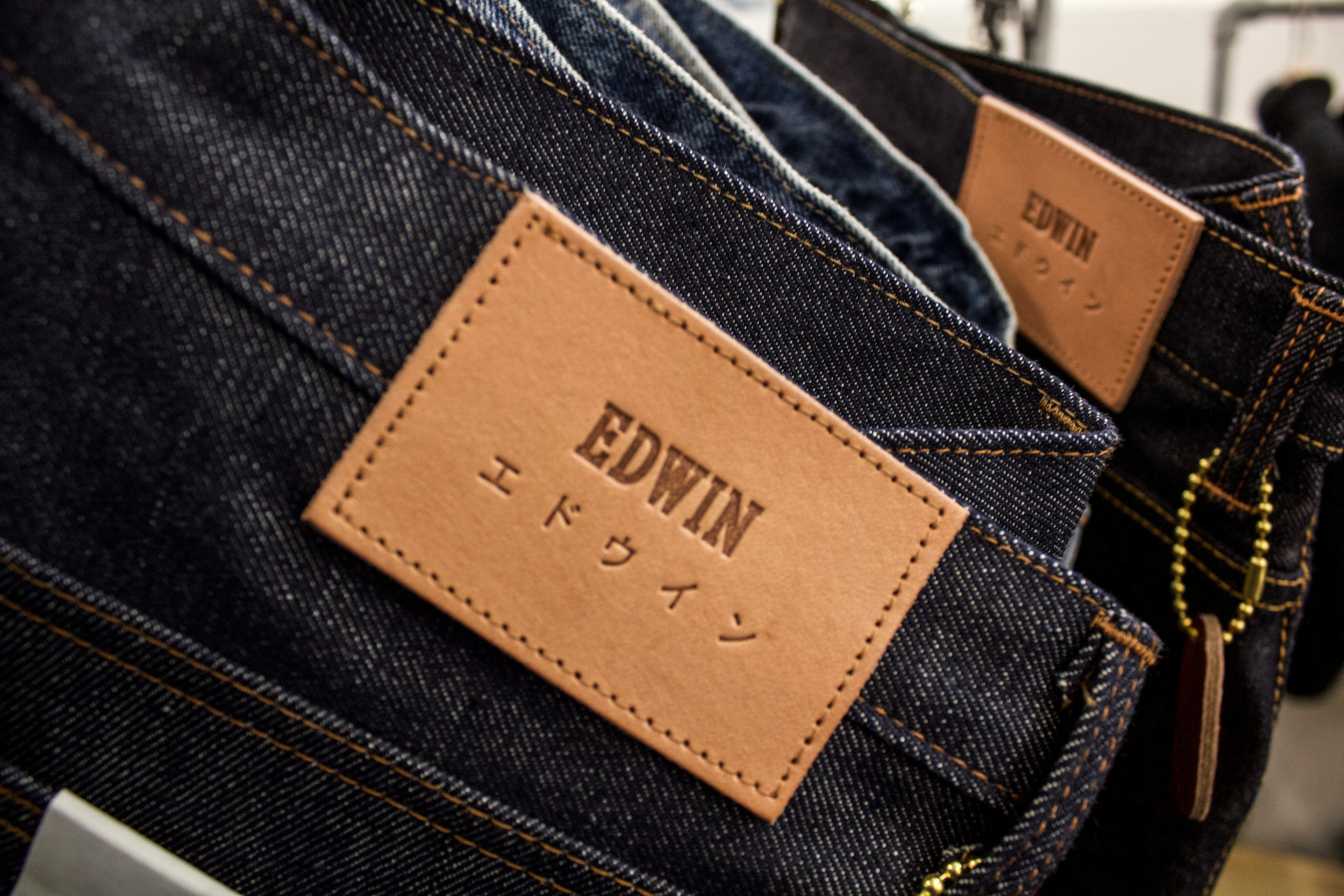 3e845a609525 Edwin are pushing a new selvedge denim release for AW19, deepening the  visuals on their leather logo patches. I love the corduroy shirts and  trousers ...