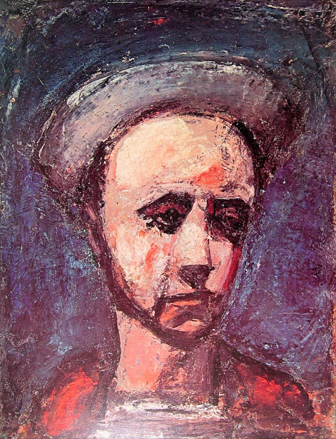 The Apprentice , Georges Rouault Oil   1925
