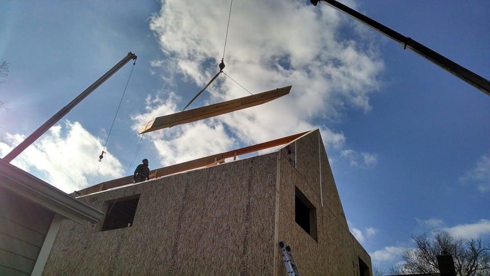 SIP Roof Installation