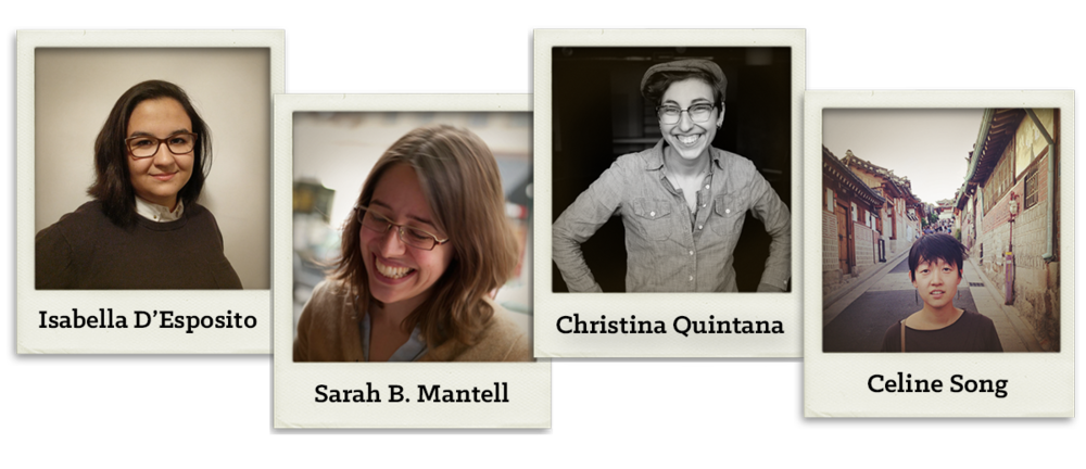 Workshop with Playwrights Realm Fellow Sarah B. Mantell - NOVEMBER 2017: Developing Sarah's new play FIGHT CALL