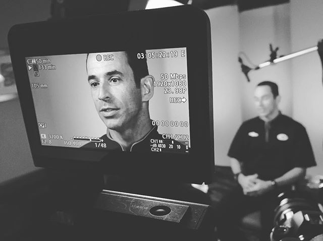 Great shoot today with legendary race car driver Helio Castroneves #indy500 #indycar #indy #sports #motorsports #setlife