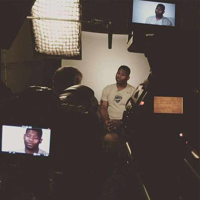 Shooting #TheGame365 with LaDainian Tomlinson #film #nfl #production #setlife