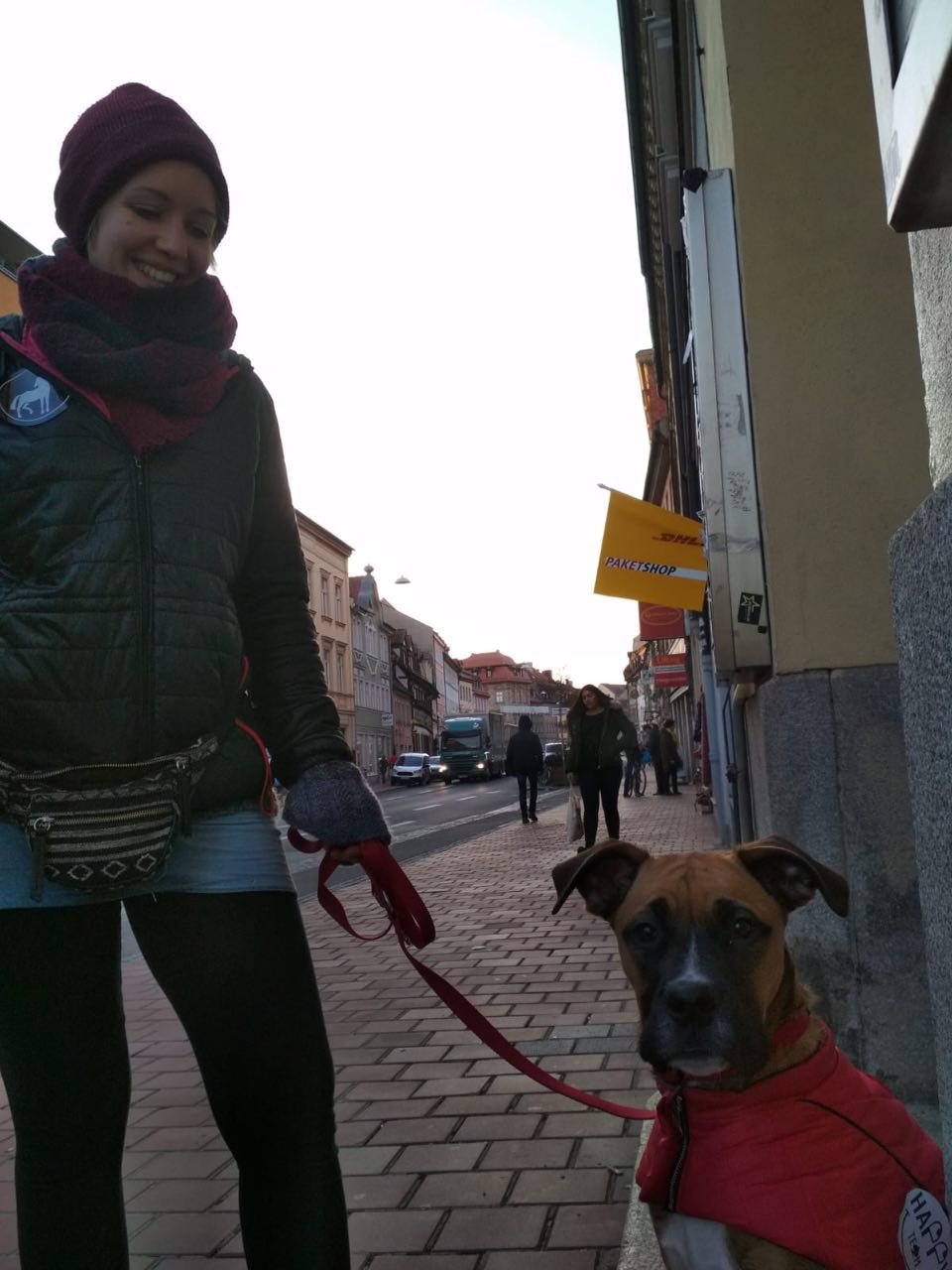 Team Awareness: Annika und Balu.