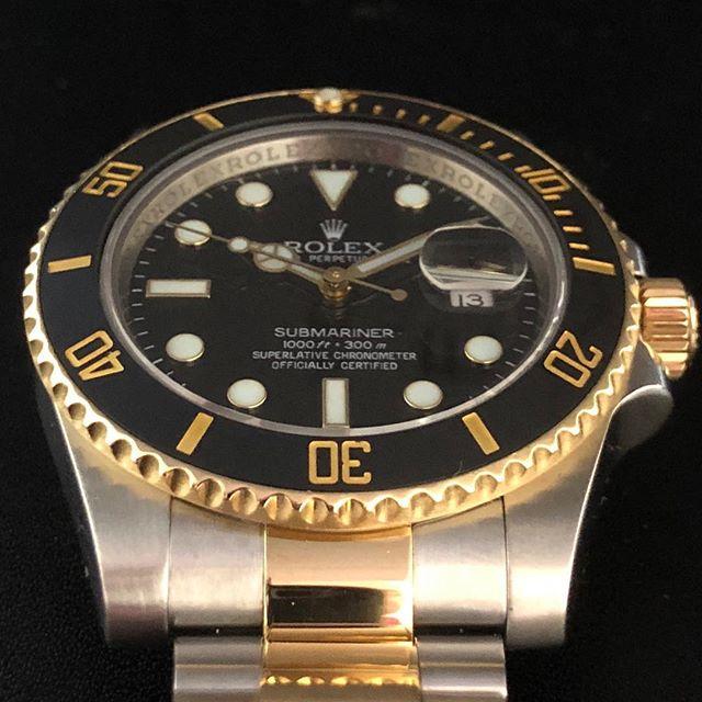 Rolex Submariner 116613. #dallaswatch #rolex #submariner #submarinerforsale