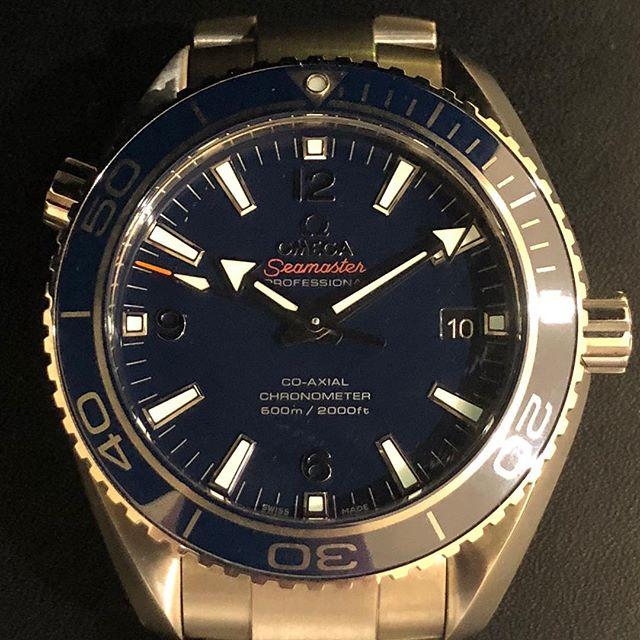 Omega Seamaster Titanium. #dallaswatch #omega #seamaster