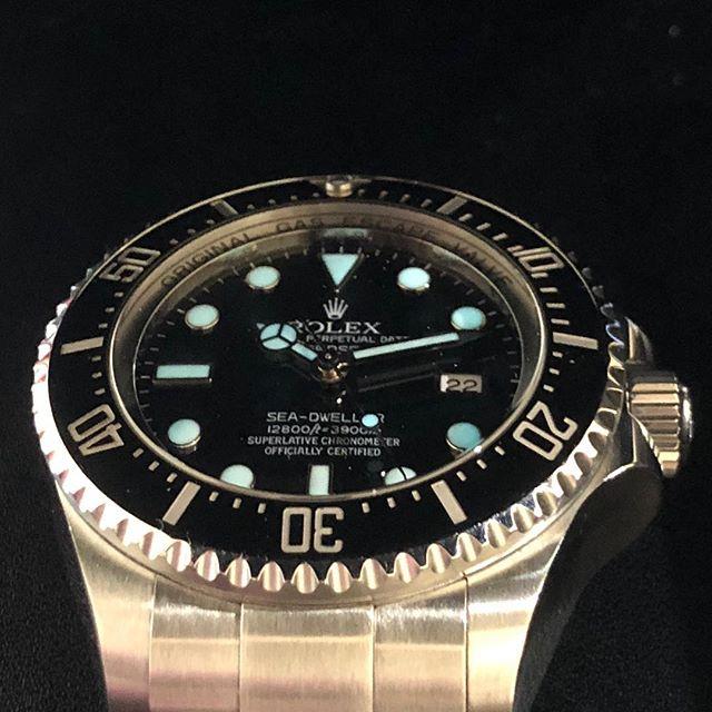 Rolex Deep Sea. #dallaswatch #rolex  #deepsea