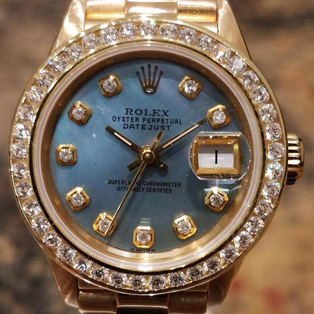 Rolex 26mm President. #dallaswatch #president #datejust #gold
