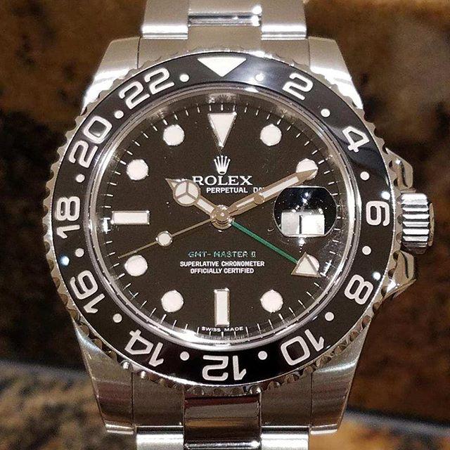 Rolex GMT. #rolex #dallaswatch #submariner #gmt