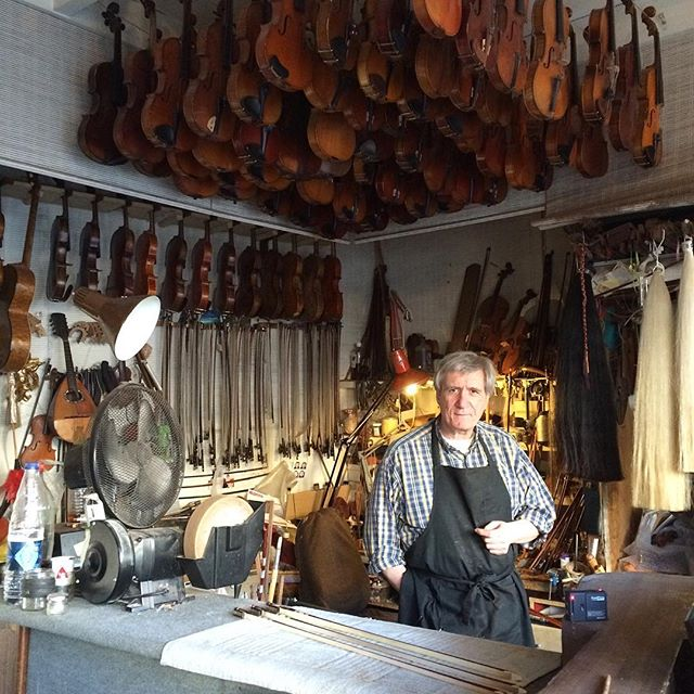 Only the finest. Pierre Testa #master #luthier #artisan #violin #handcrafted #paris