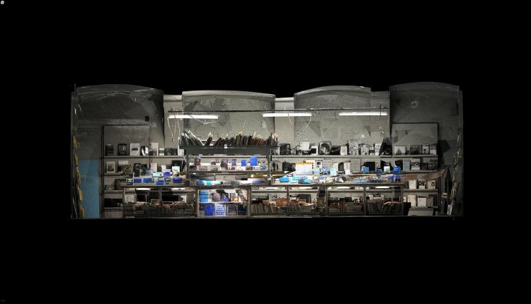 A 3D rendering of Cella's Studio.