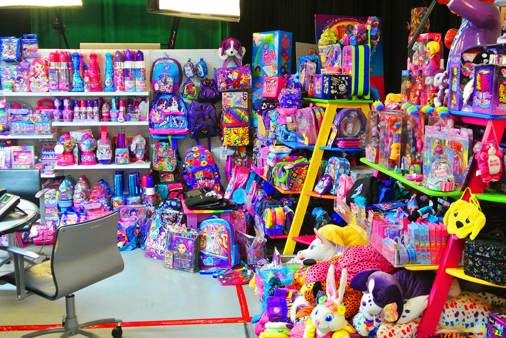Lisa Frank's office.