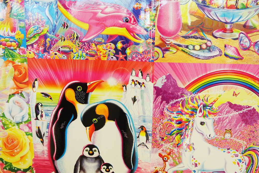 Proofs of new Lisa Frank.