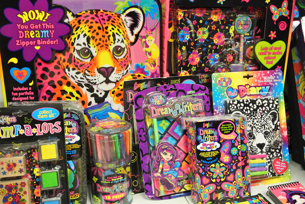 Lisa Frank stock from the 90's.