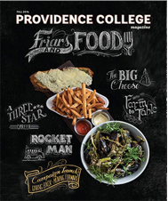 "Providence College Magazine - Friars & Food ""A la Cart"""