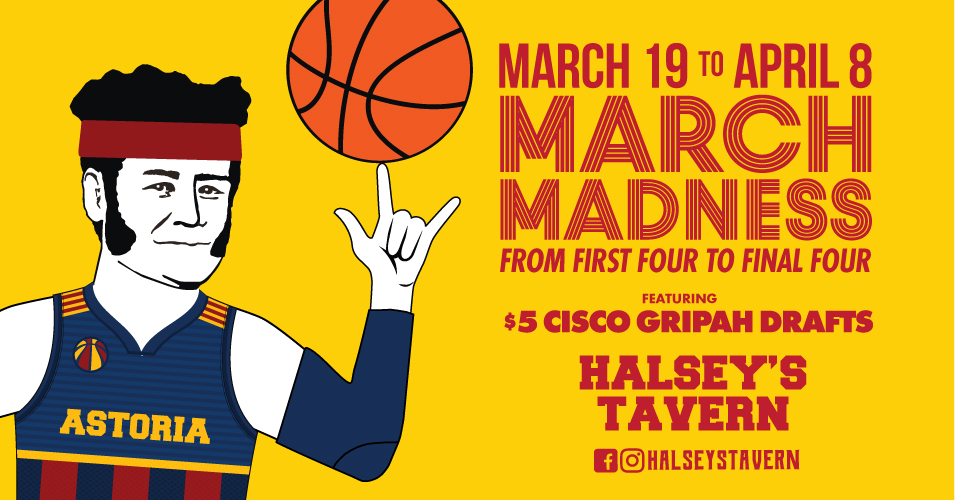 Watch March Madness in Astoria NYC