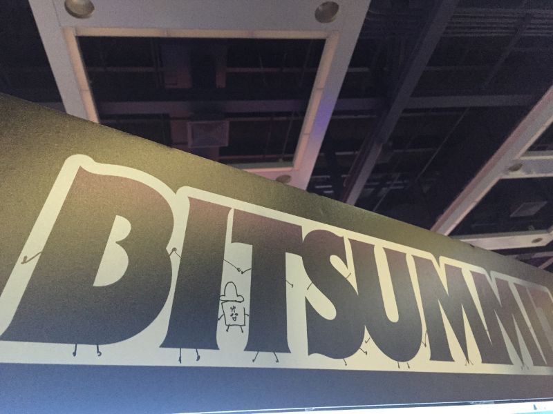 The fantastic BitSummit sign - with a slight edit by Keita ;D