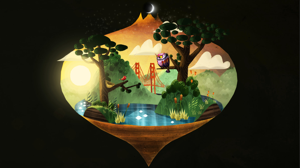 Concept from Our VR storybook puzzle game - Luna.
