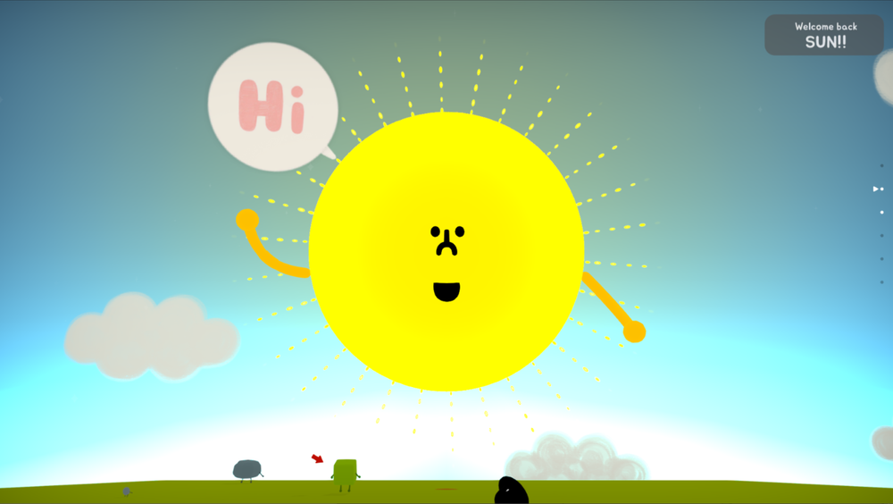 Friends! - Befriend, play with, and switch between dozens of unique characters that Wattam has to offer