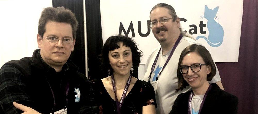 Preston, Raquel Mann of EPL, Glenn, and Kelly at PLA in Philadelphia