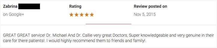 Reviews Chiropractor Nashville
