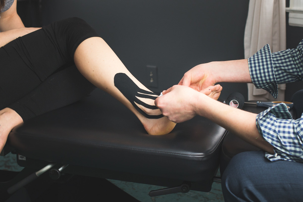 Kinesiotape treatment nashville