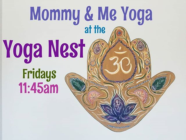 Hey there, Mama Birds! Join us tomorrow.. and every Friday for an asana practice dedicated to mamas and their babes! We focus on breath, movement, and meditation with our babies right by our side!  @theyoganestfl #fortlauderdale #yogaclass #coopercity #yogastudio #fitmom #postpartumbody #pranayama #asana #mommyandme #yoga #momlife #wheelhouseyogis