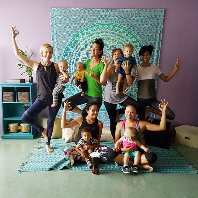 Your vibe attracts your tribe ☄  You can find us tomorrow at @funkandflowstudio 11am💖  #mindfulmamas #wheelhouseyogis #momlife #mommyandme #broward #fortlauderdale #yogastudio #yogamom #pranayama #asana #meditation #mindfulness
