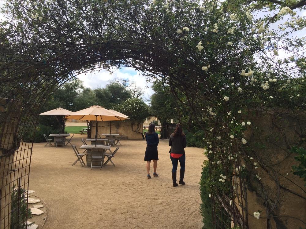 Sunstone Winery in Santa Ynez, CA.